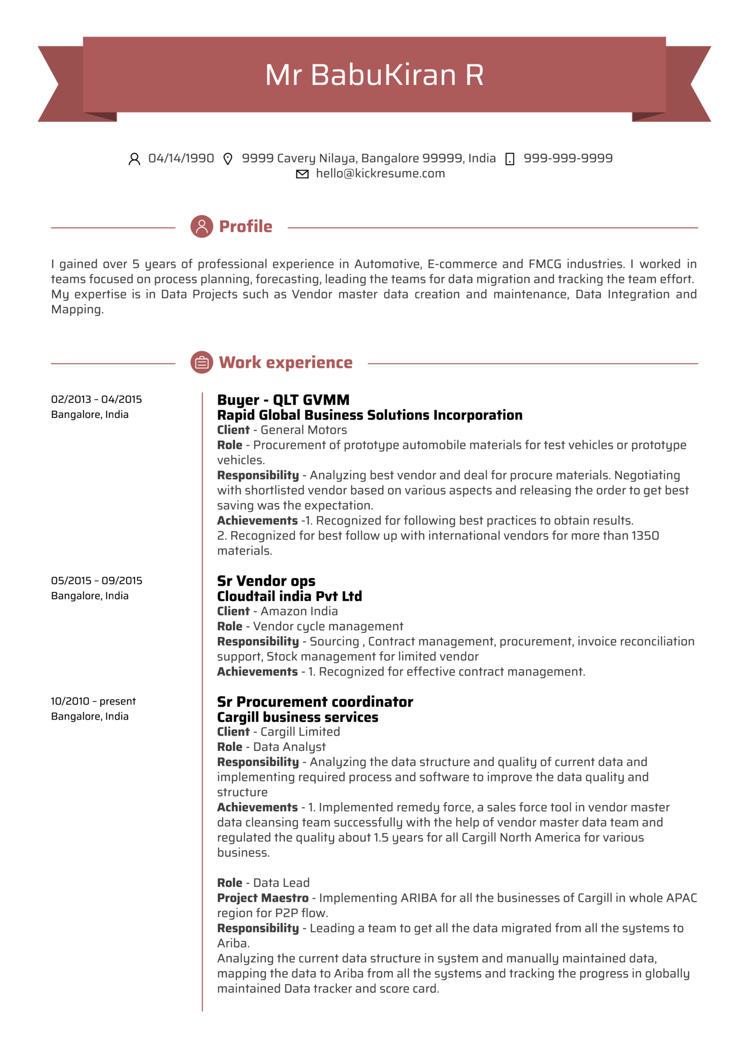resume examples by real people  data analyst cv example