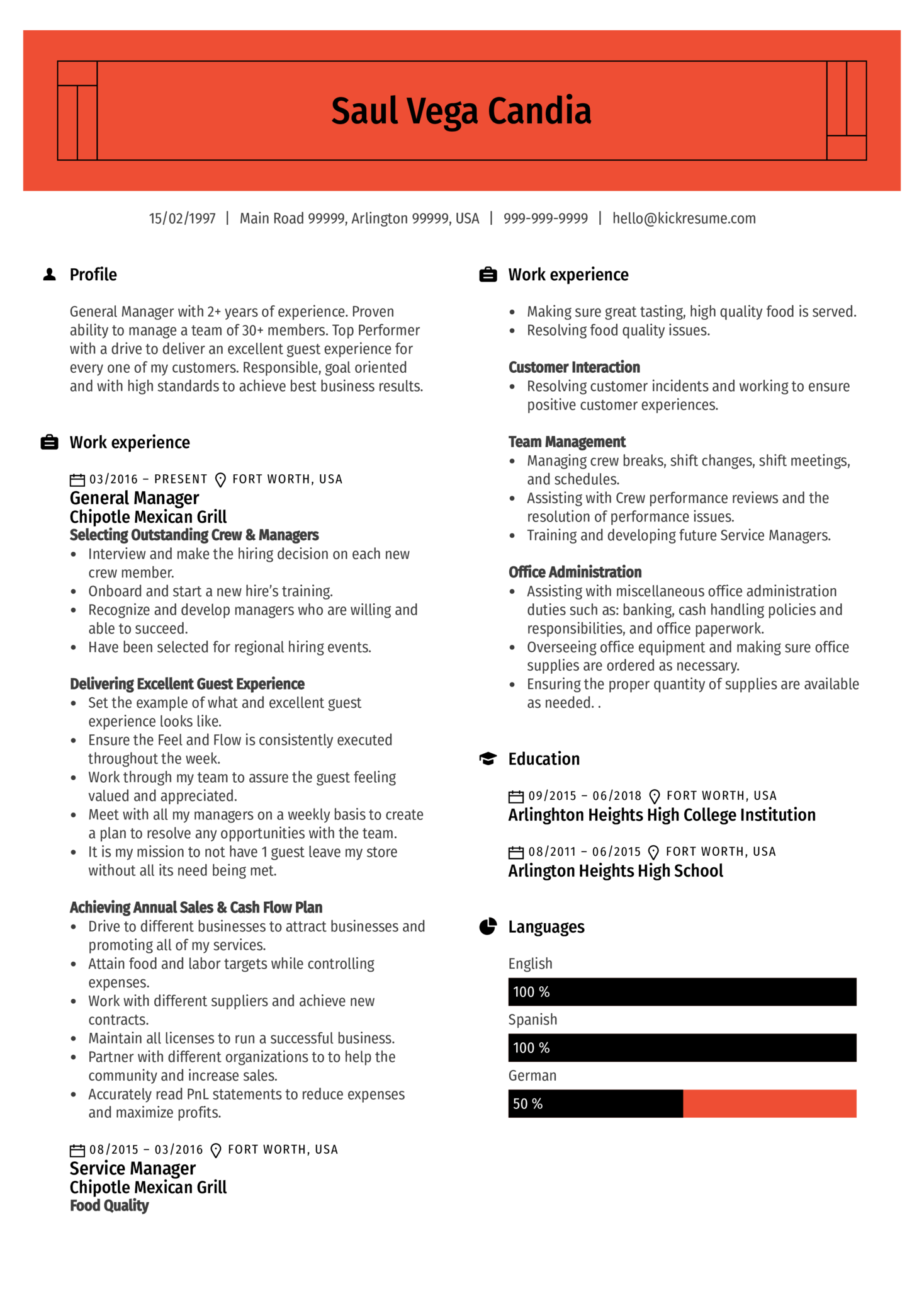 BBVA Compass Banker Resume Sample