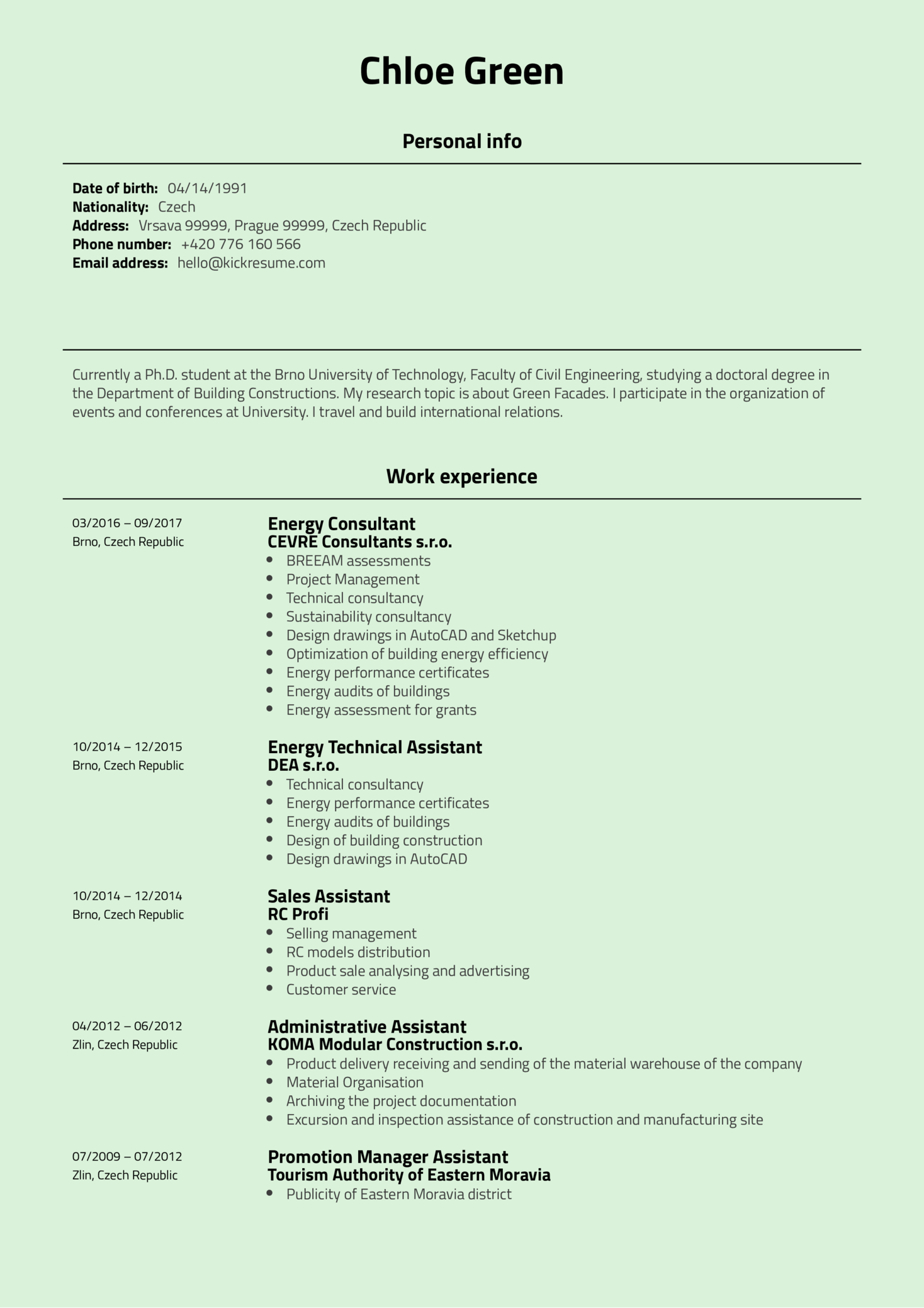 resume examples by real people  project coordinator at