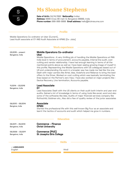 Project Management Resume Samples from Real Professionals Who got ...
