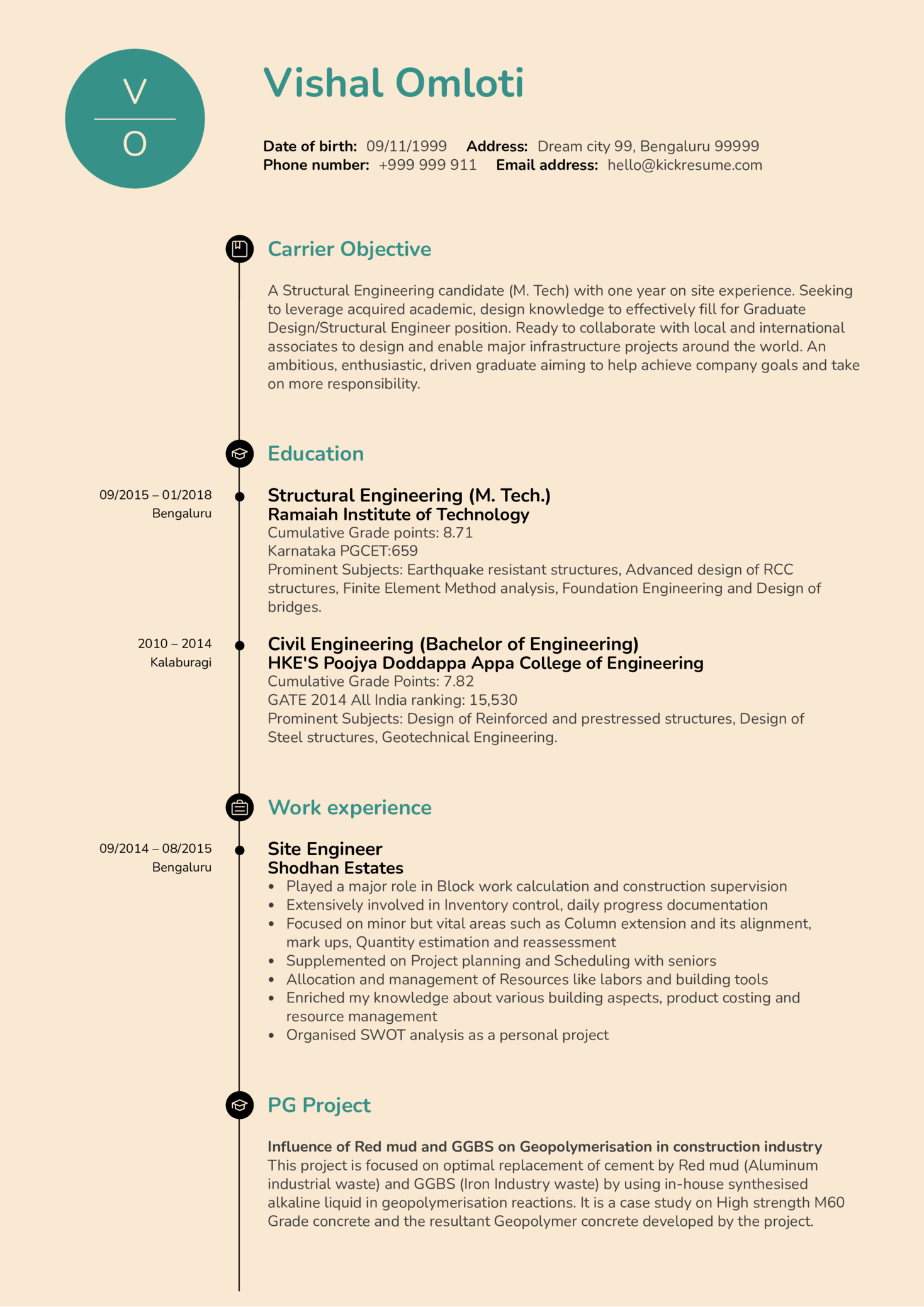 Resume Examples by Real People: Structural Engineer resume ...