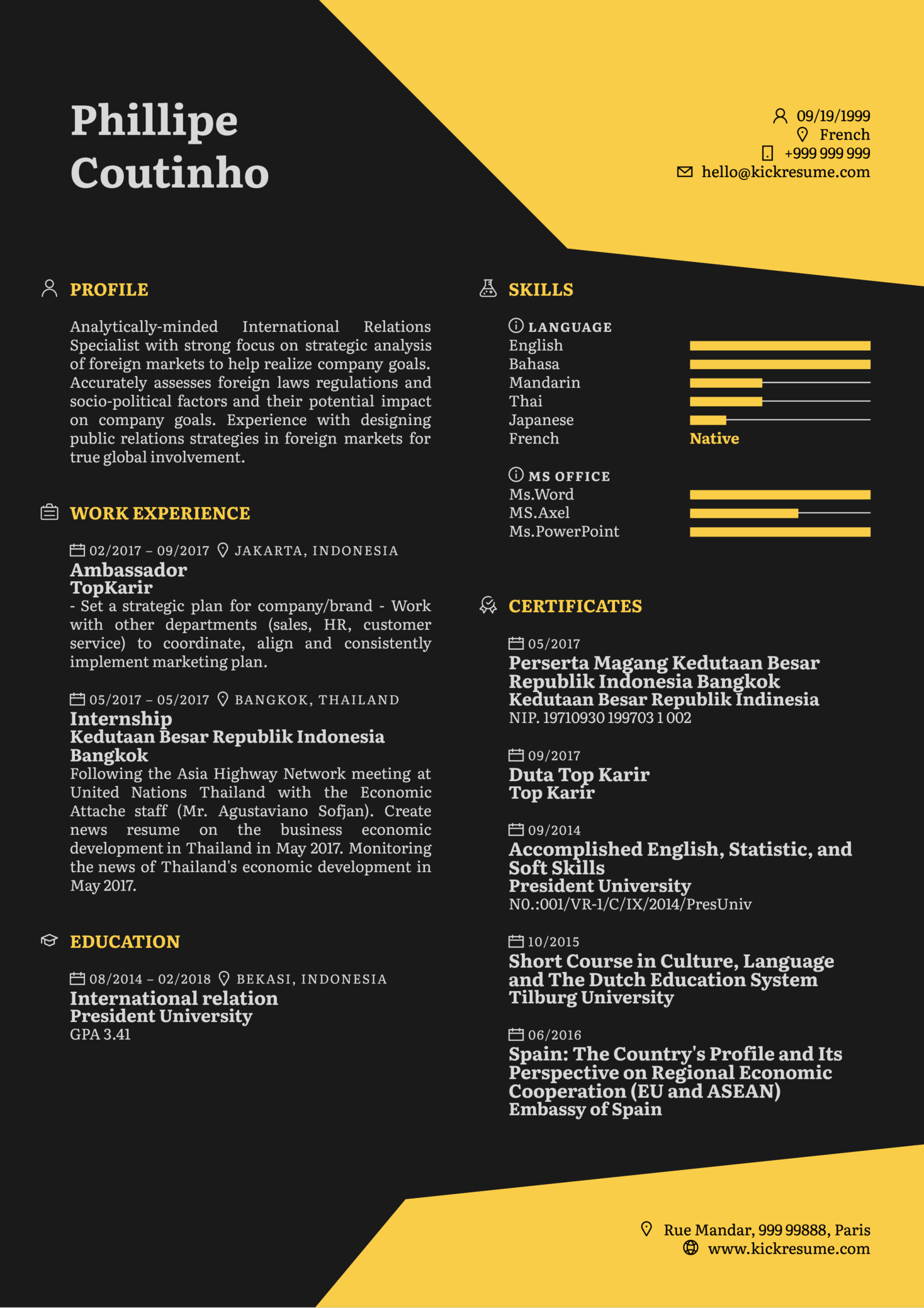 resume examples by real people  business analyst cv example