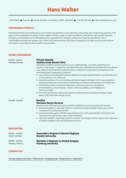 Healthcare Resume Samples From Real Professionals Who Got Hired