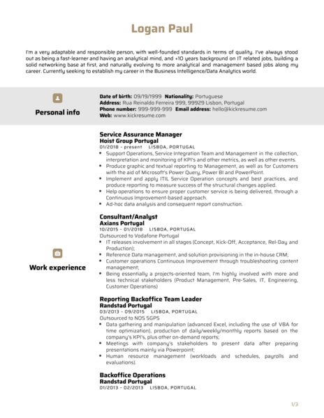 Data Service Manager Resume Sample