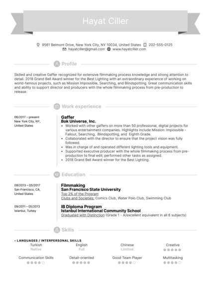 art    design resume samples from real professionals who got hired