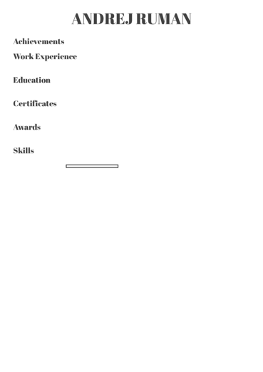 Business Specialist resume sample