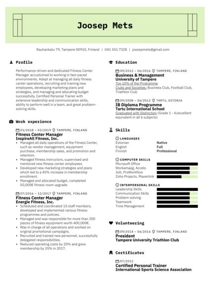 Resume Examples By Real People Dentist Sample