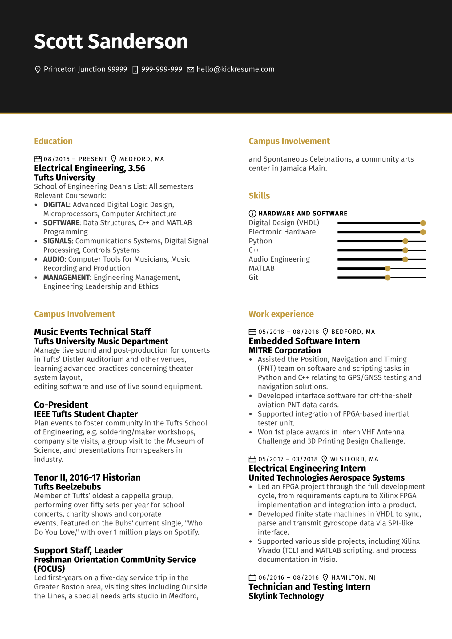 resume examples by real people  junior software engineer