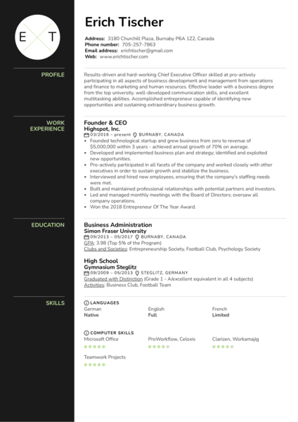 Executive Resume Samples From Real Professionals Who Got