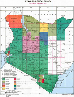 samsamwater geological maps of kenya