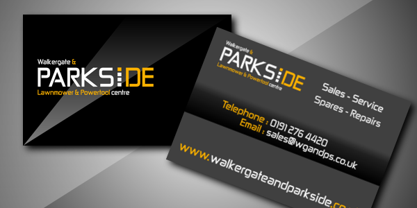 Walkergate and Parkside – Business Cards
