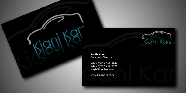 Kiani Kars Ltd – Business Cards