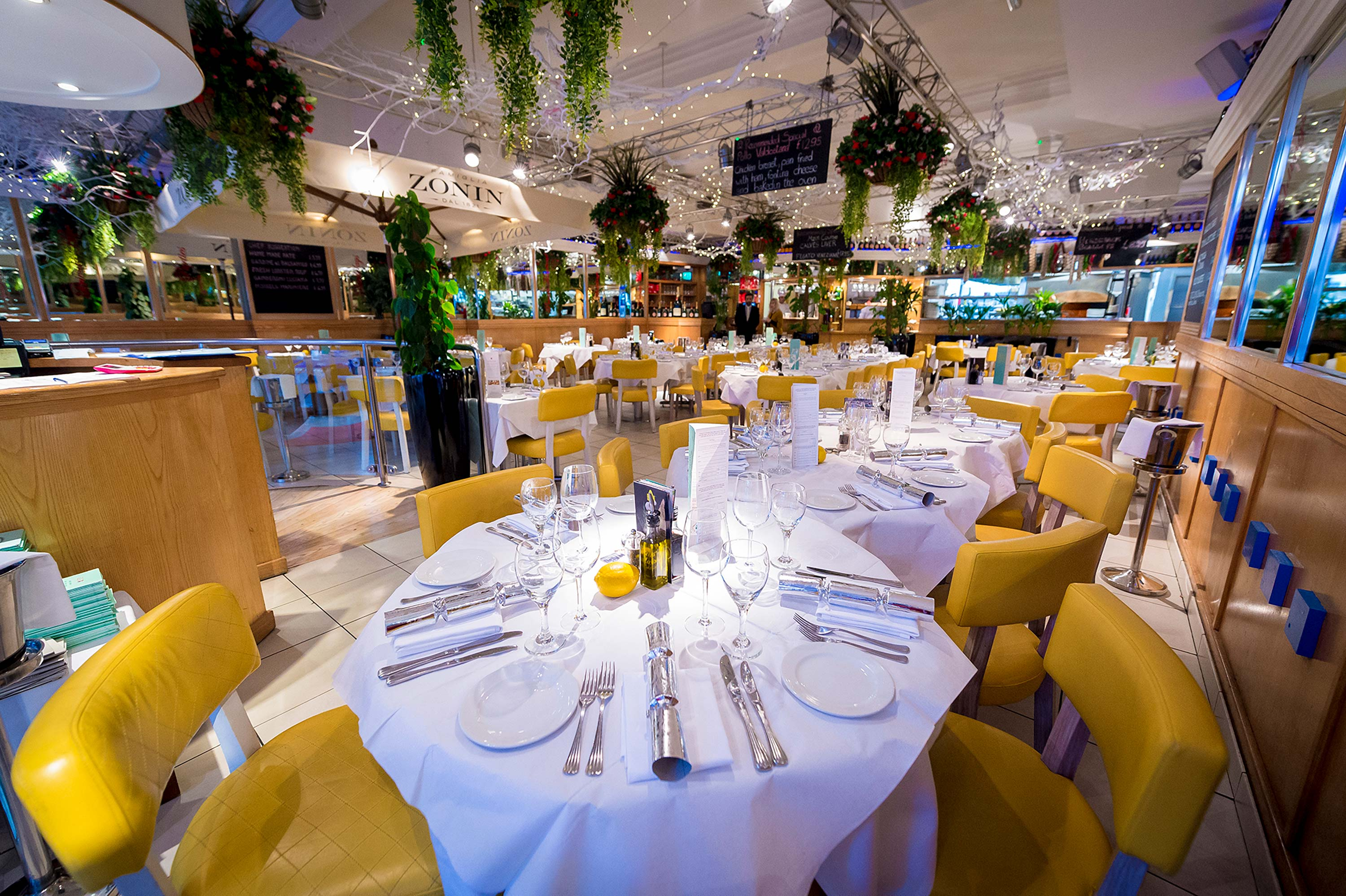 San Carlo Leicester Fresh Italian Food Award Winning