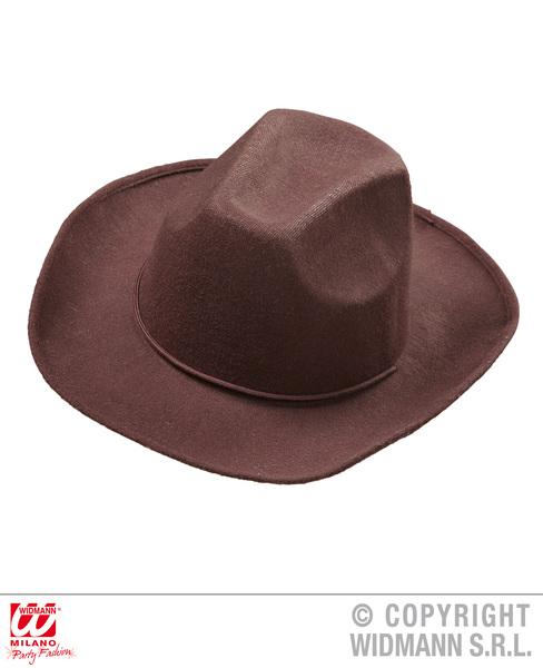 REAL LOOK BROWN COWBOY HAT