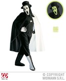 ROCK GHOST COSTUME (cape boot covers gloves mask hat)