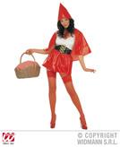 RED RIDING HOOD COSTUME (dress belt hooded capelet)