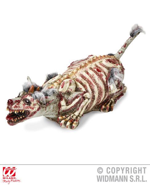 ZOMBIE DOG WITH FUR 94 cm