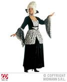MIDNIGHT MARQUISE LADY (dress w/hoop collar)