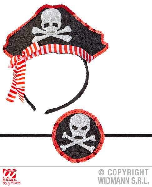 MINI PIRATE HAT & EYE-PATCH