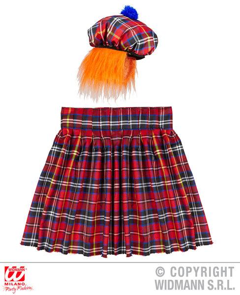 SCOTSMAN SET (kilt hat with hair)