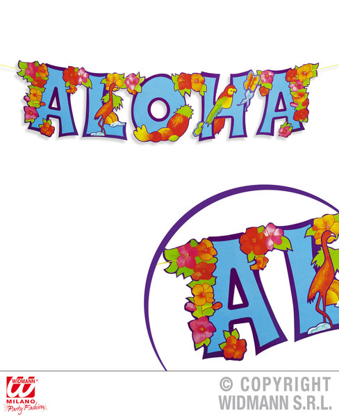 JOINTED ALOHA GARLAND 80 x 20 cm