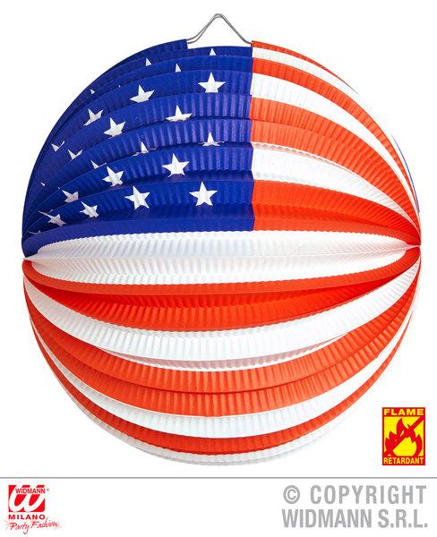 USA PAPER BALL 25cm - flame retardant