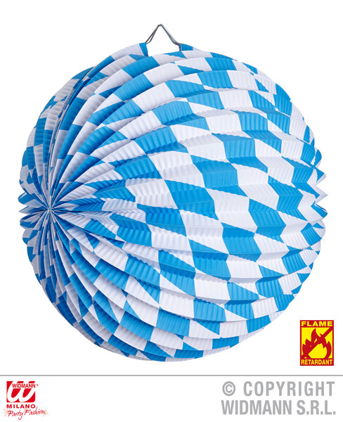 BAVARIAN PAPER BALL 25 cm - flame retardant