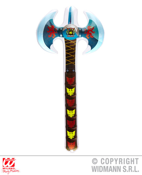 INFLATABLE DOUBLE AXE 70 cm
