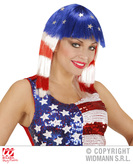 MISS AMERICA WIG