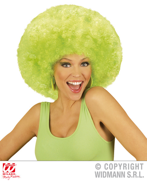 EXTRA CURLY JIMMY WIG - GREEN