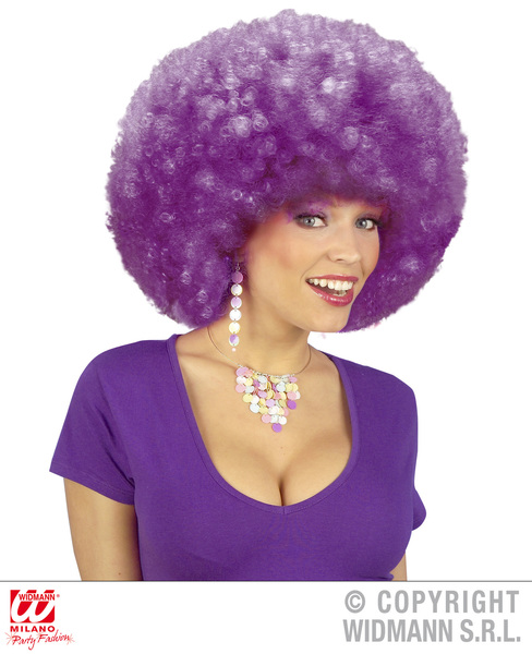 EXTRA CURLY JIMMY WIG - PURPLE