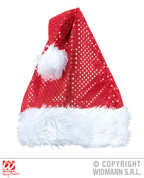 SEQUIN SANTA CLAUS HAT