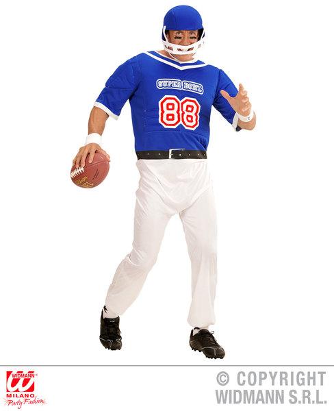 AMERICAN FOOTBALL PLAYER (overalls helmet)