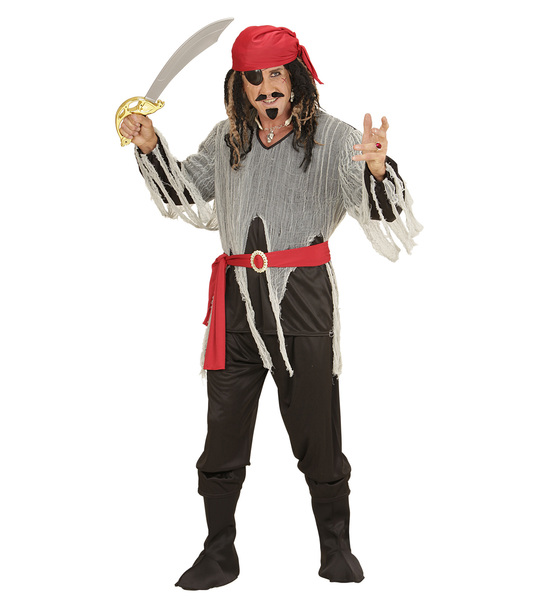 PIRATE (shirt pants belt boot covers bandana)