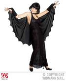 SPIDERWEB LADY COSTUME (dress gloves choker cape)