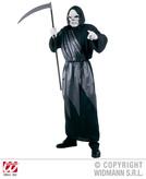 GRIM REAPER COSTUME (hooded robe with drape belt)