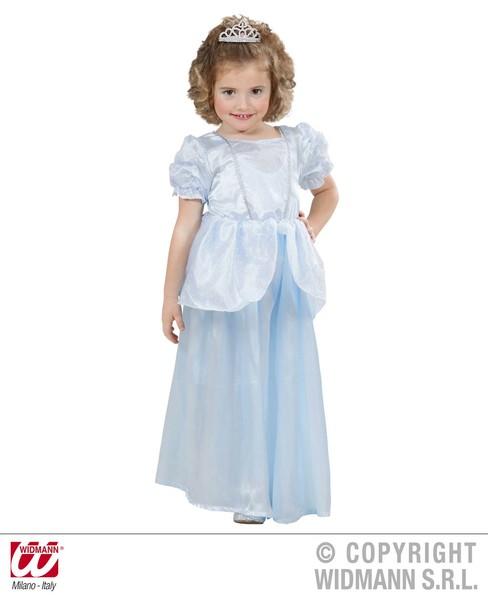 PRINCESS - LIGHT BLUE (98cm/104cm) (dress)