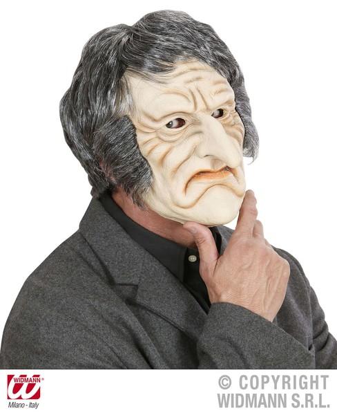 FOAM LATEX MASK - CREEPY OLD MAN