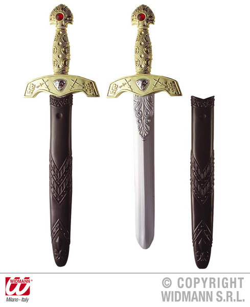 ROYAL SWORD W/SCABBARD 45cm