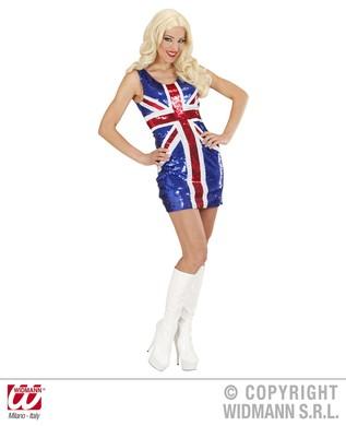 SEQUIN DRESS MISS UK
