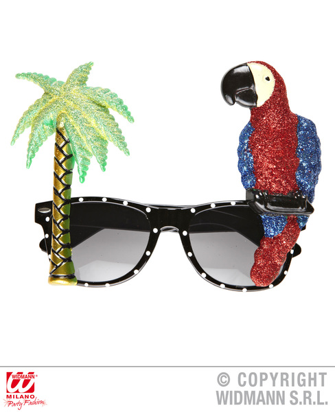 PARROT TROPICAL GLASSES