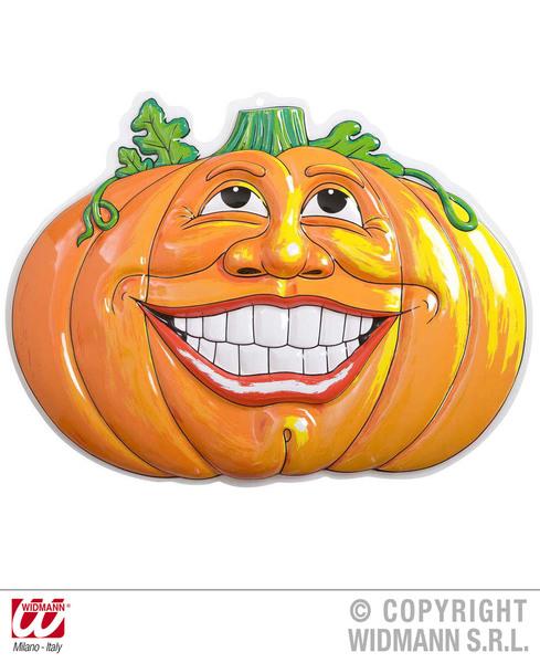 3D SMILING PUMPKINS - 52.5cm x 49cm