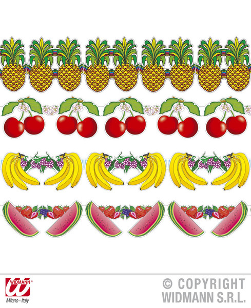 FRUIT GARLANDS 3m - 4 styles