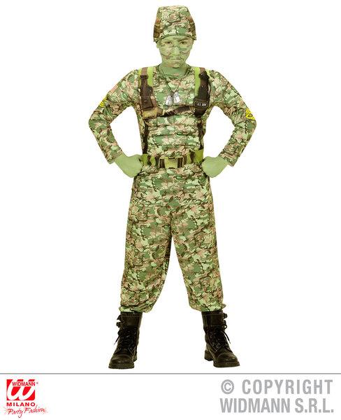 POWER SOLDIER (muscle overalls helmet) Childrens