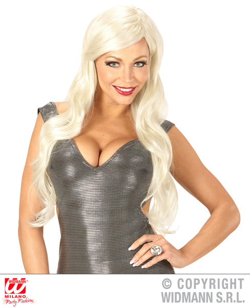 DIVA WIG in polybag - BLONDE