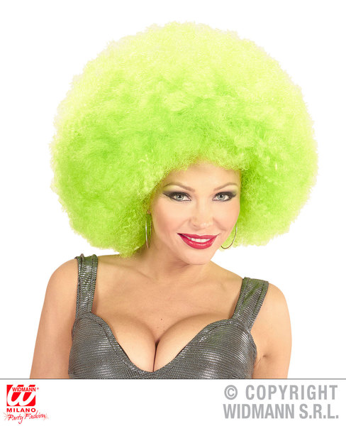 Top quality OVERSIZED AFRO WIG in polybag - GREEN