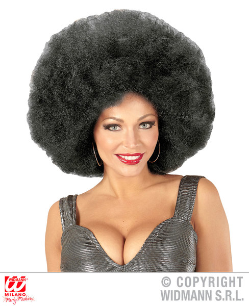 Top quality OVERSIZED AFRO WIG in polybag - BLACK