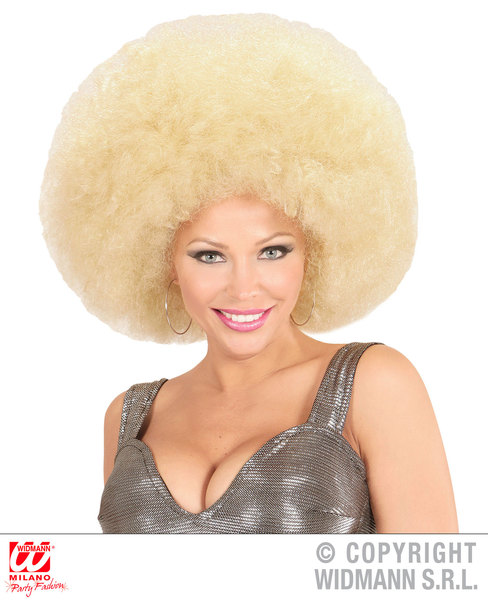 Top quality OVERSIZED AFRO WIG in polybag - BLONDE