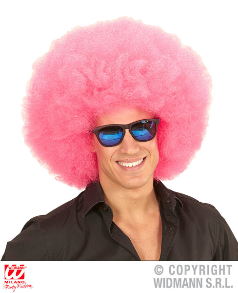 Top quality OVERSIZED AFRO WIG in polybag - PINK