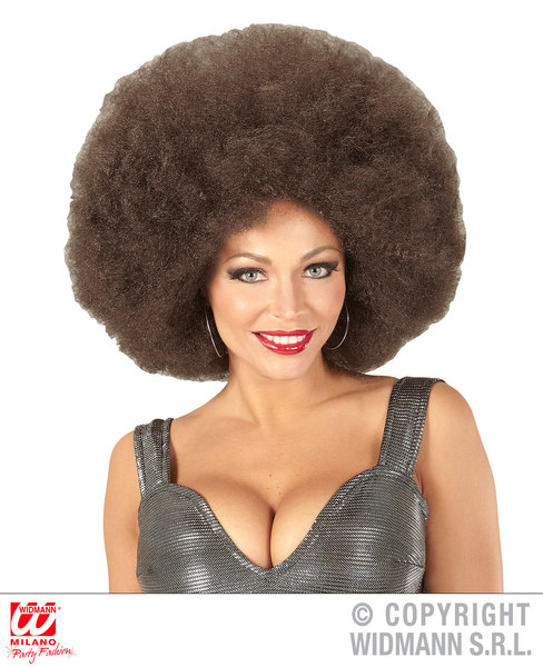 Top quality OVERSIZED AFRO WIG in polybag - COFFEE